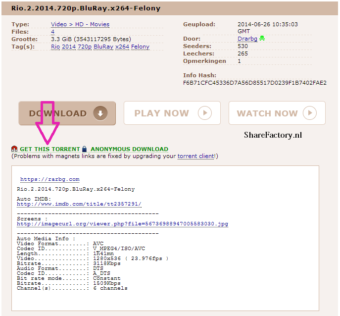 torrent uitleg screenshot 4