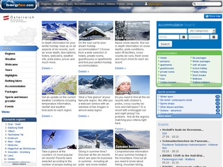 beste wintersport sites screenshot bergfex.com
