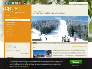 single wintersport vakanties screenshot crusj.com