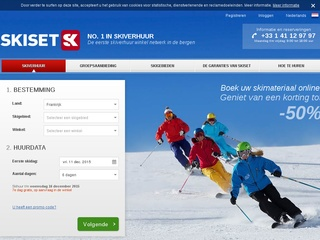 beste wintersport sites screenshot skiset.nl